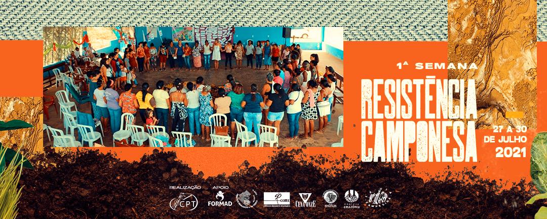 CPT realiza nesta semana, em Cuiabá (MT), a 1ª Semana de Resistência Camponesa